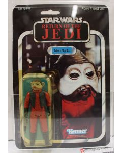 1983 ROTJ Kenner Vintage Star Wars Return of the Jedi Nien Nunb AFA 85 Y-NM+ #13950886