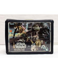 Vintage Kenner Star Wars Accessories Loose SW Vinyl Case C8 (No Insert/Extra Name Decals Applied)