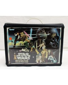 Vintage Star Wars Accessories Loose SW Vinyl Case C8 (No Insert/Extra Name Decals Applied)