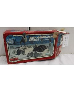 Vintage Star Wars Micro Collection Hoth Generator Attack C8 with C2 Box - Missing Darth Vader & AT-ST Body & Legs