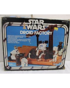 Vintage Kenner Star Wars Playsets Boxed Droid Factory - C8 with C5 Box
