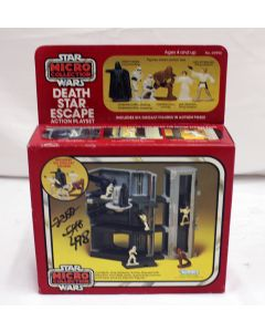 Vintage Star Wars Micro Collection Boxed Death Star Escape MISB C7 (Writing on box)