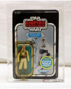 Vintage 1981 Kenner Star Wars ESB 45 Back Luke (Hoth Battle Gear) AFA 80 #14868198