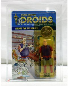 Vintage 1985 Kenner Star Wars Droids TV Series Jord Dusat AFA 80 #16920608
