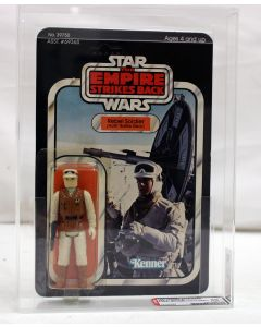Vintage 1980 Kenner Star Wars ESB 41 Back-B Rebel Soldier (Hoth Gear) AFA 80 #12130394