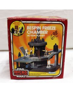 Vintage Star Wars Micro Collection Boxed Bespin Freeze Chamber MISB C5 (Small writing on box, loose tape)