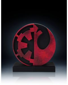 Gentle Giant Imperial and Rebel Seal Bookends