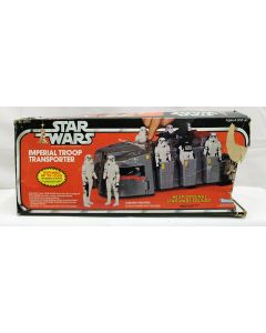 Vintage Star Wars Vehicles Boxed Imperial Troop Transporter C7 with C1 Box