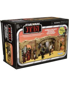 Star Wars Exclusive Vintage Collection ROTJ Jabba's Palace Adventure Playset