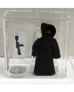 1977 Kenner Star Wars Loose Jawa  (Dark Brown Stitch) Action Figure AFA 80 NM // 19227796