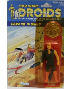 Vintage Star Wars Carded Droids Thall Joben Action Figure // C7Y
