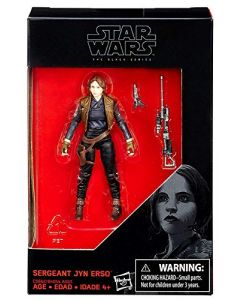 "Star Wars Black Series Rogue One 3.75"" Boxed Sergeant Jyn Erso Exclusive Action Figure"