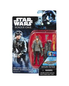 "Rogue One: A Star Wars Story 3.75"" Carded Jyn Erso (Eadu)  Action Figure"