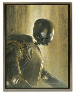 Licensed Artwork Timeless Series K-2SO-Canvas Print- (by Jerry Vanderstelt)