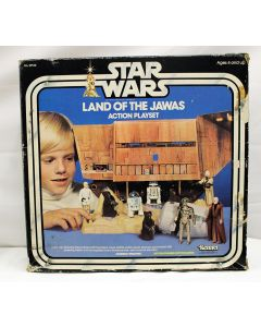 Vintage Star Wars Playset Boxed Land of the Jawas C6 With C4 Box