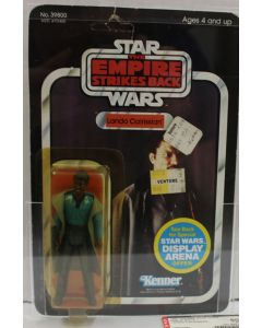 1981 Kenner Vintage Star Wars Carded 45 Back ESB Lando Calrissian AFA 60Y #10674592