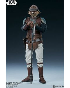 PRE-ORDER: Star Wars Lando Calrissian (Skiff Guard Version) from Sideshow Collectibles