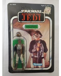 1983 Vintage Kenner Star Wars ROTJ 65 Back Lando Calrissian (Skiff Guard) // C6