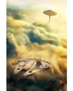 """Licensed Artwork """"Leaving Bespin"""" - Giclee on Canvas- (by Cliff Cramp)"""