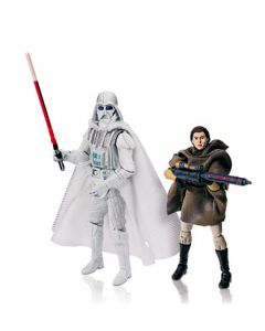 2008 Legacy Collection Expanded Universe 2-Pack Carded Darth Vader (white) & Leia (sniper)