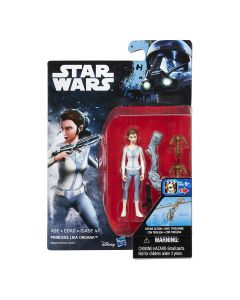 """Rogue One: A Star Wars Story 3.75"""" Carded Leia Organa (Rebels) Action Figure"""