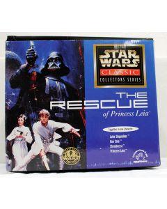 Star Wars POTF2 Applause The Rescue of Princess Leia Statuette (Luke, Han, Chewbacca and Leia) MIB