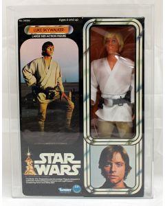 """Vintage 1978 Star Wars Boxed 12"""" Luke Skywalker AFA 75 (B75 W85 F85) #16720219"""