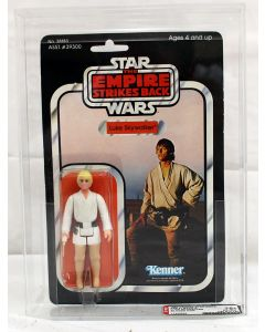 Vintage Star Wars ESB 41 Back-E (Farmboy) Luke Skywalker Figure AFA 75+ EX+/NM #11229955
