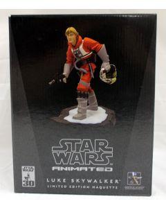 Star Wars Gentle Giant Animated LE Maquette Princess Luke Skywalker Snowspeeder Pilot MIB