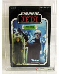 Vintage Star Wars ROTJ 65 Back-A Luke Skywalker - Jedi Knight - AFA 85#11808893