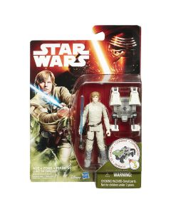 "The Force Awakens 3.75"" Carded Luke Skywalker Bespin (Forest Mission)"