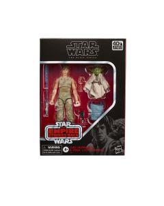 Hasbro Star Wars The Black Series Luke Skywalker and Yoda (Jedi Training) 6-Inch Action Figure