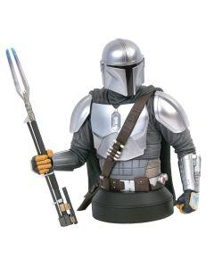 Star Wars Gentle Giant Mandalorian Beskar Armor 1:6 Scale Mini-Bust SDCC 2020 Exclusive