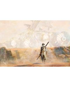 """Licensed Artwork """"Nowhere Rock"""" - Giclee on Canvas- (by Cliff Cramp)"""