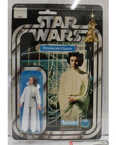 Star Wars 1978 Vintage Kenner Star Wars 12 Back-C Princess Leia Organa // AFA 80 NM #17399323