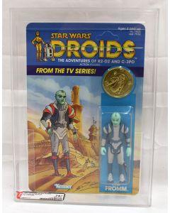 Vintage 1985 Star Wars Droids TV Series Tig Fromm AFA 75+ (C75 B85 F80) #16800717