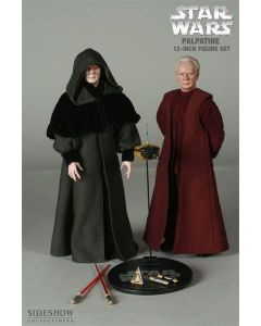 "Sideshow Collectibles 12"" Chancellor Palpatine/Darth Sidious 2-Pack (Sideshow Exclusive) C-9"
