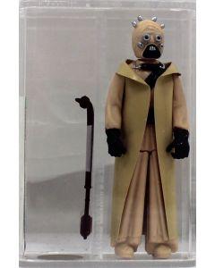 Star Wars Vintage Loose Rare Tusken Raider (Sand People) Hollow Cheeks AFA U90 #16940731