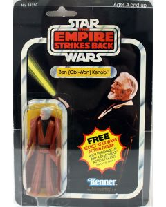 1980 Vintage Kenner Star Wars ESB 21 Back Ben (Obi-Wan) Kenobi Grey Hair Action Figure AFA 60 EX #11570246