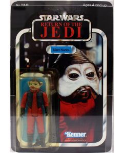 1983 Vintage Kenner Star Wars ROTJ 65 Back-A Nien Nunb Action Figure AFA 75Y EX #11606823