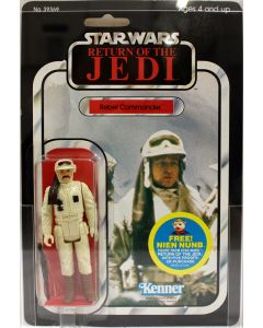 1983 Vintage Kenner Star Wars ROTJ 48 Back Rebel Commander Action Figure AFA 85 EX #11097962