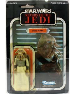 1983 Vintage Kenner Star Wars ROTJ 65 Back-A Squid Head Action Figure AFA 85Y EX #11731505