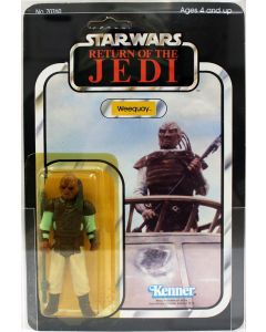 1983 Vintage Kenner Star Wars ROTJ 65 Back-A Weequay Action Figure AFA 70Y EX #11770186