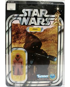 1978 Vintage Kenner Star Wars 12 Back-A Jawa with Vinyl Cape Action Figure AFA 75 EX #17240311
