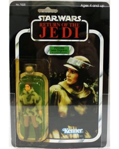 1984 Vintage Kenner Star Wars ROTJ 77 Back-A Leia with Combat Poncho Action Figure AFA 75Y EX #11926098