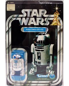 1978 Vintage Kenner Star Wars 12 Back-C R2-D2 Action Figure AFA 85 EX #16322832