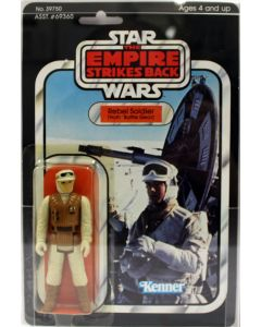 1980 Vintage Kenner Star Wars ESB 41 Back-D Rebel Soldier (Hoth Gear) Action Figure AFA 80+ Y-EX #12078601