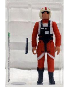 Star Wars Vintage Loose Star Wars Luke Skywalker X-Wing AFA 80 #17750297