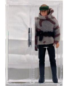 Star Wars Vintage Loose POTF Luke Skywalker Battle Poncho AFA 90 #11752996