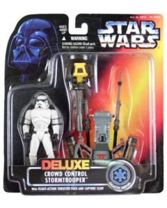 Power of the Force 2 Deluxe Crowd Control Stormtrooper